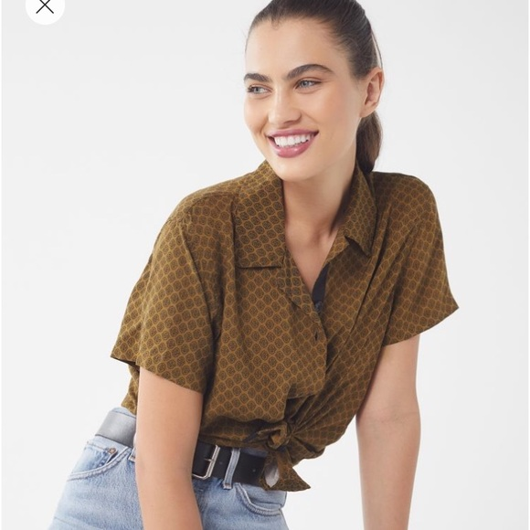 9c04f520 Urban Outfitters Tops | Nwt Uo Dolores Button Down Top | Poshmark